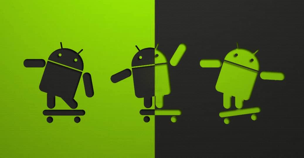 Androidos mobiltelefon